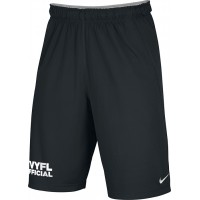 Official 12: Nike Team Fly Athletic Shorts with TVYFL on Leg